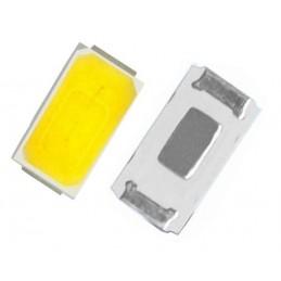 10pz Diodo chip led smd 5730 luce bianco freddo 9500k 0.5W 55LM 3.3V 150mAh