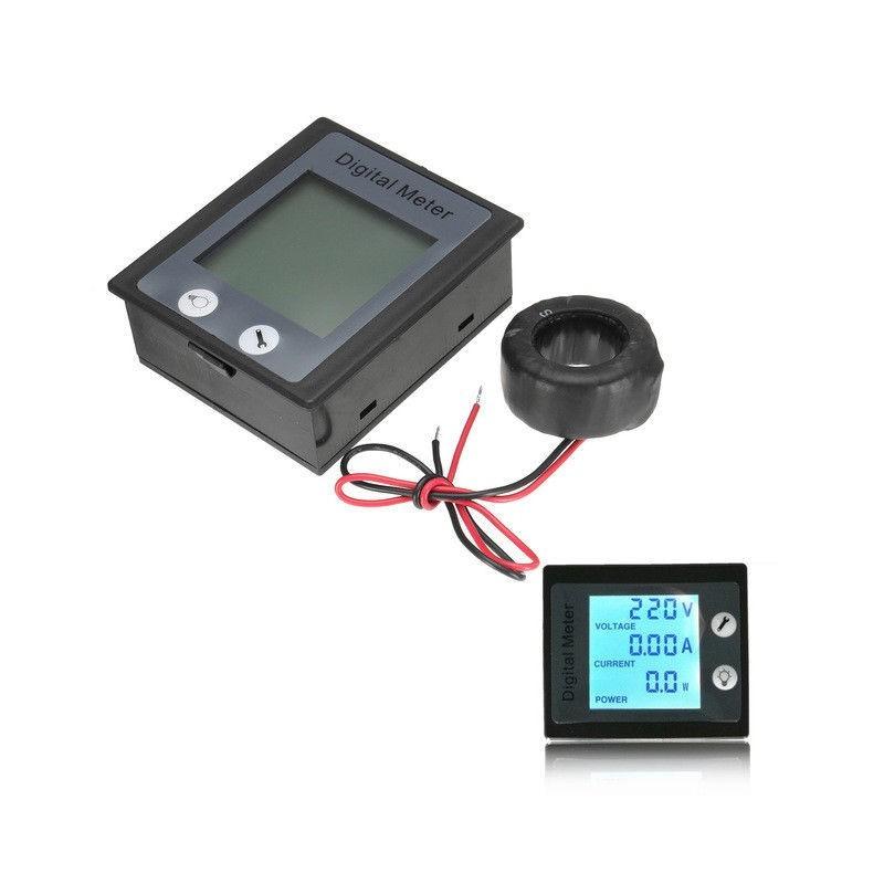 Tester voltometro amperometro lcd contatore di consumo elettrico AC 80-260V 100A