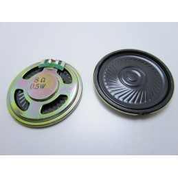 1pz Mini  speaker altoparlante 0,5W 8 ohm diametro 40mm per arduino elettronica