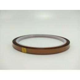 Nastro adesivo kapton alte temperature protezione termica larghezza 10mm 33mt