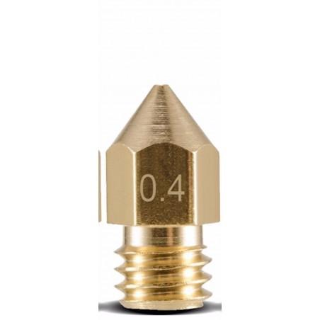 Ugello estrusore in ottone M6 0,4mm Reprap Stampante 3D MK8 MK7 Makerbot prusa