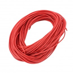 Cavo elettrico filo rosso flessibile 10 MT metri  24awg FT2 300v per elettronica