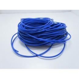 Matassa cavo filo elettrico flessibile 10 metri blu awg24 300v ul1007