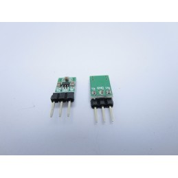 2 IN 1 Convertitore automatico step-down e step-up da 1,8 a 3,3v per ESP8266 HC-
