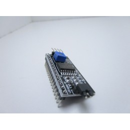 Modulo interfaccia seriale IIC/I2C/TWI/SPI per display 1602 HD44780 2004 arduino