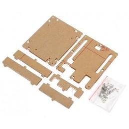 Kit contenitore scatola trasparente in acrilico per arduino REV 3 con viti