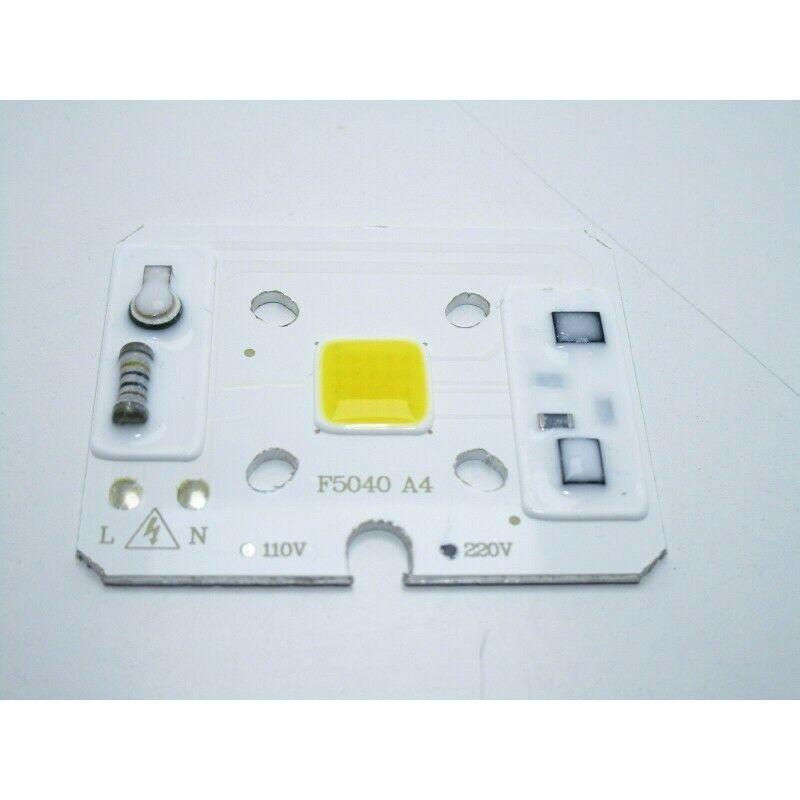 Led 10w bianco caldo alimentazione diretta a 220V 3500k alta luminosità
