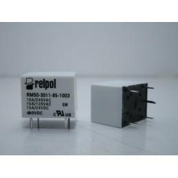 Relè RELPOL elettromagnetico SPDT RM50-3011-85-1003 bobina 3vdc 10A/240V 15A/24V