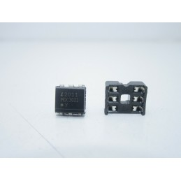 Integrato Optotriac optoisolatore 5kv 400v MOC3021M zoccolo 6 dip DS1009-06AT1NX