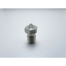 Ugello estrusore V6 0,8mm INOX per stampante 3D Makerbot Reprap Prusa pla 1,75mm