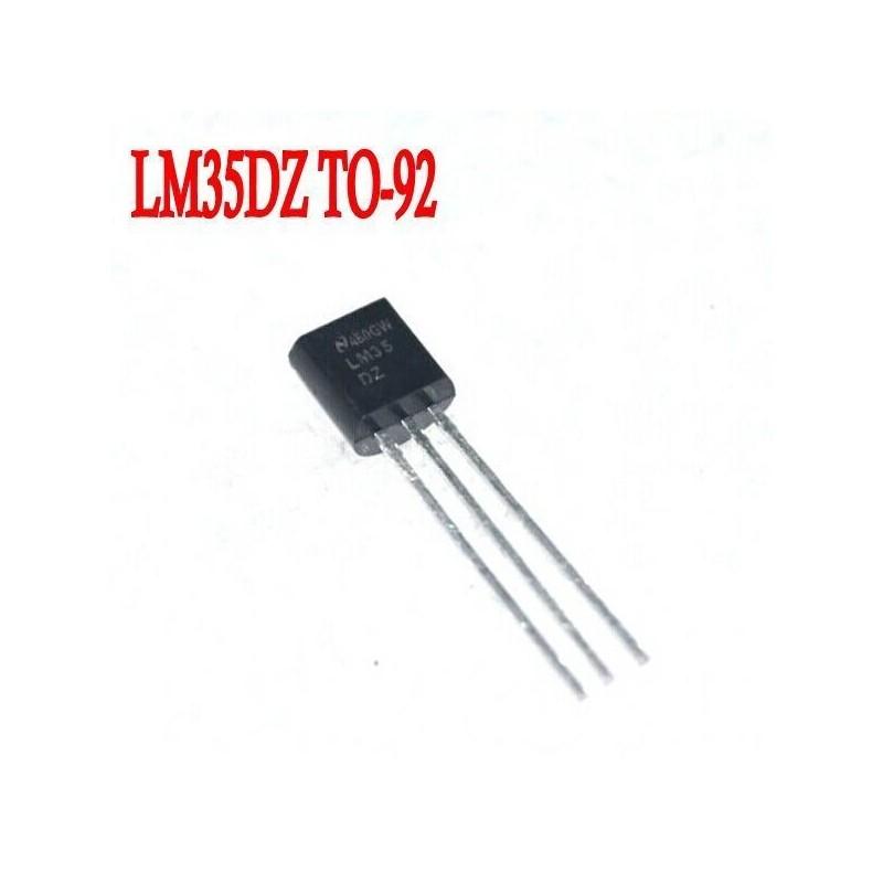 Sensore di  temperatura precisione tra 0°C-100°C in contenitore TO-92 LM35DZ