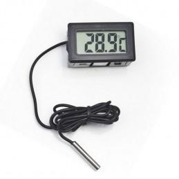 Termometro digitale con sonda ntc 1mt per acquario ambiente frigo universale