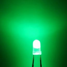 Diodo led luce verde 3mm...