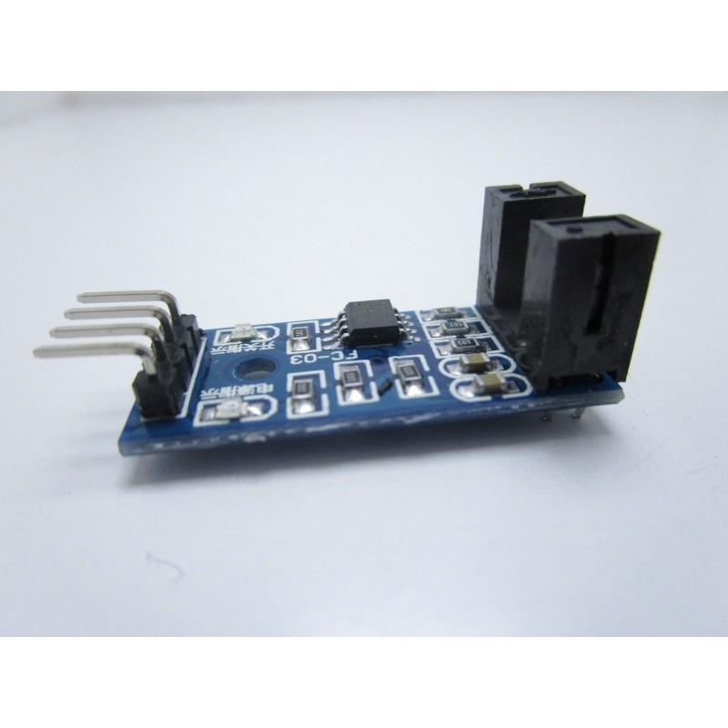 Sensore LM393 di misurazione e rilevamento velocità con accoppiatore per arduino