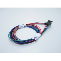 Cavo con connettore dupunt 4 pin 70cm femmina per stepper motore stampante 3D