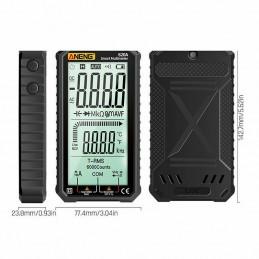 Multimetro digitale touch 620A 6000 ANENG T-RMS tester con termometro e luce led