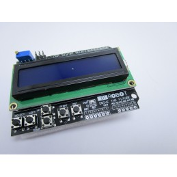 Display lcd shield keypad 1602 16X2 HD44780 con tastiera per arduino