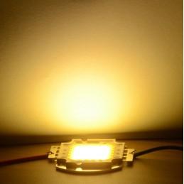 Chip power led 50w watt luce bianco caldo 32v 4500k 1500mAh per ricambio fari