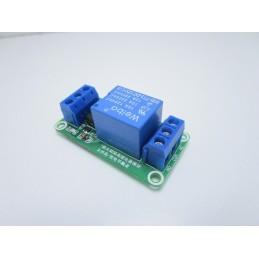 Modulo relè optoisolato 24V 1 canale relay con fotoaccoppiatore per arduino