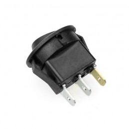 Interruttore rotondo rocker a bilanciere 12V 20A SPDT da pannello 3 pin 20mm