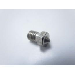 Ugello nozzle estrusore 0.4mm in acciaio M6 E3DV6 filamento 1.75mm stampante 3D