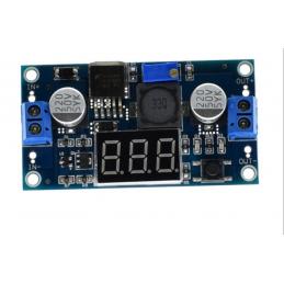 Convertitore regolatore di tensione step down con display lm2596 1,25v-37v 3A