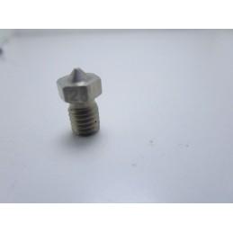 Ugello estrusore nozzle in acciaio 0.25mm M6 per filamento 1.75mm stampante 3D
