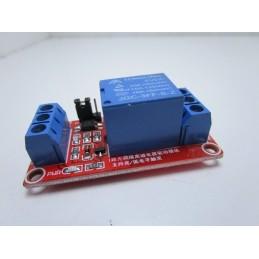 Modulo scheda relè relay 5V 1ch canale per carichi fino 250Vac 10A per arduino