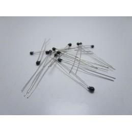 10 pezzi sensore di temperatura ntc MF52-103 3435 termistore resistenza 1% 10k