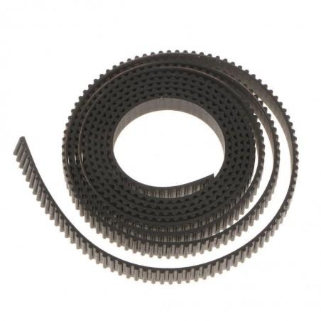 Cinghia di distribuzione dentata GT-2 belt larghezza 6mm 1mt per cnc 3D printer