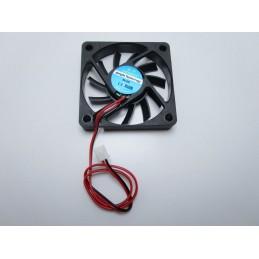 Ventola di raffreddamento 5V 60x60x10 6010 2 pin27dba per stampante 3D cpu 25cm