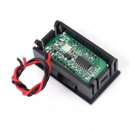 Tester voltometro digitale LCD indicatore livello carica batterie a piombo 12V
