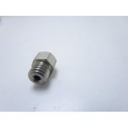 Ugello nozzle estrusore in acciaio inox 0.5mm 1.75mm MK8 per stampante 3D Reprap