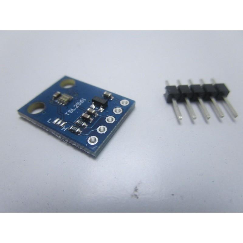 Modulo GY-2561 con sensore digitale di rilevamento intensità luce per arduino