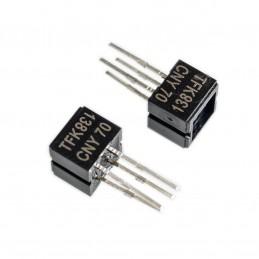 2pz Sensore ottico accoppiatore riflettente con uscita transistor 5v 50mah