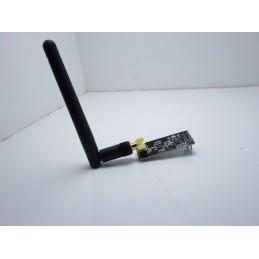 Modulo wireless con antenna 2,4 Ghz NRF24L01+ PA + LNA distanza fino a 1100mt