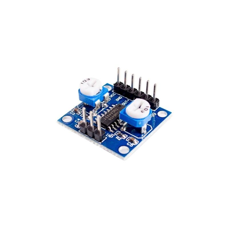 Modulo PAM8406 amplificatore digitale audio classe D con potenziometro 5W+5W