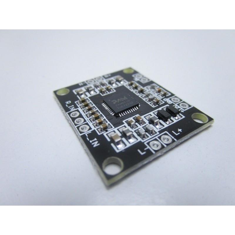 Modulo amplificatore digitale audio stereo con PAM8610 uscita fino a 15W+15W 12V