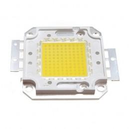 Chip power led 50w watt luce bianco freddo 30V-32v 1500mAh per ricambio fari