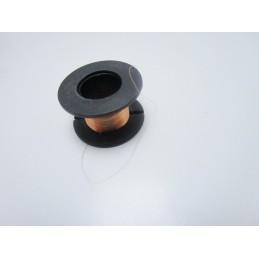 Bobina filo in rame 0.10mm smaltato per micro saldature ripristino piste  10m