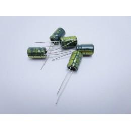 5 pezzi Condensatore elettrolitico verticale 10v 1000uf 8mmx12mm