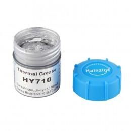 Pasta termica termoconduttiva silver argento HY710 20g 3.17wh per cpu led vga
