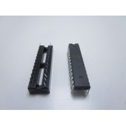 Kit Atmega328P-PU Atmel con zoccolo socket 28 pin arduino per fai da te
