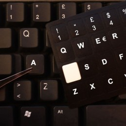 Lettere tasti stickers adesivi tastiera italiana adesiva universale per notebook