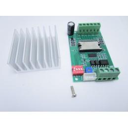 Scheda driver TB6600 4.5A dc 10Vdc a 45Vdc per stepper motore passo passo cnc
