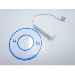 Adattatore scheda di rete ethernet porta usb 2.0 femmina a LAN Rj45 10/100Mbp