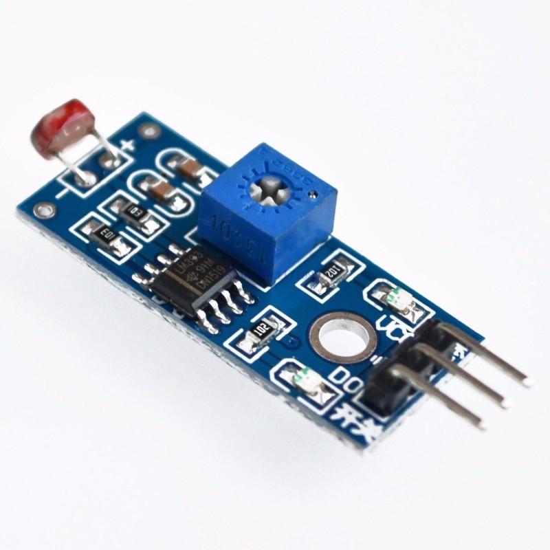 Sensore di luce LDR LDR07 fotoresistenza fotosensore fotocellula per Arduino