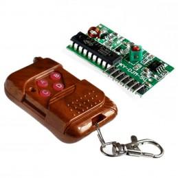 Kit telecomando e ricevitore 12v 4ch radio ic2272 ic2262 controllo remoto 315mhz