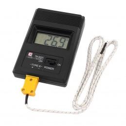 Termometro digitale con sonda ntc TM-902 per termocoppie di tipo K -50°C-1300°C