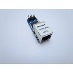 Modulo scheda di rete lan ethernet HANRUN HR911105 ENC28J60 3,3v arduino network